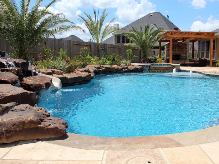 Free Form Swimming Pools 227