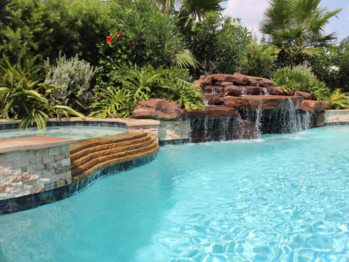 Free Form Swimming Pools 5