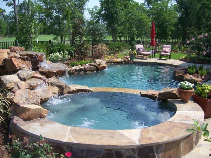 Free Form Swimming Pools 54